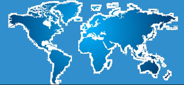 Le monde interactif carte des populations présenté par Nanou Création Traiteur Antillais